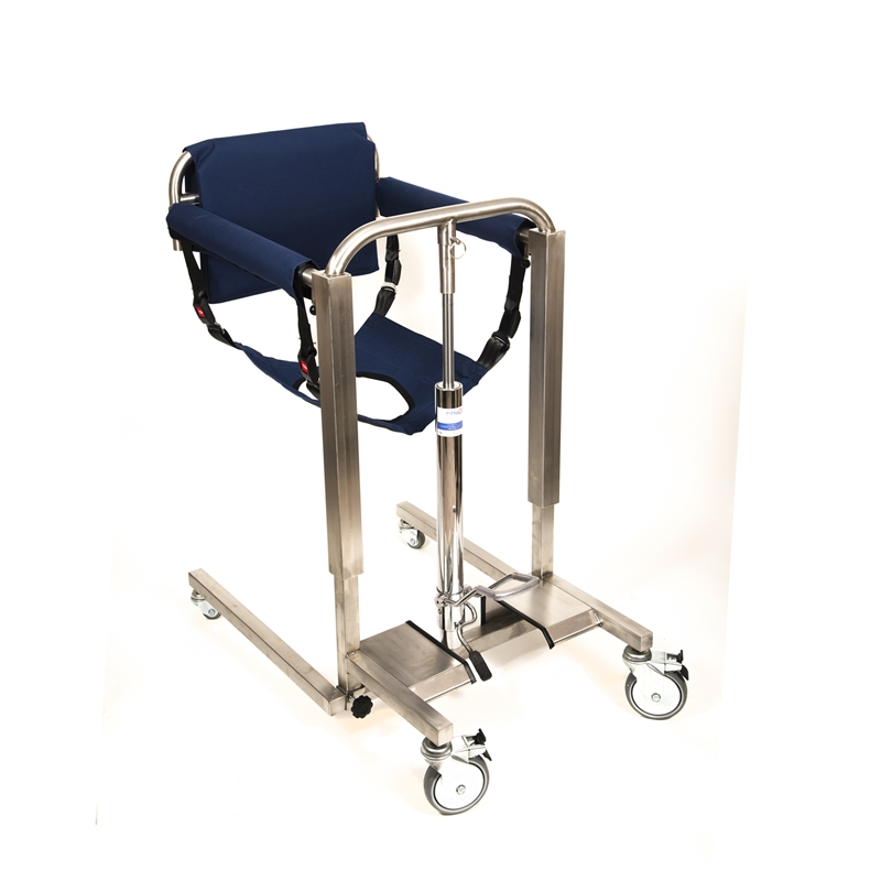 Hydraulic patient lifting and transfer chair – hoist - easyGO